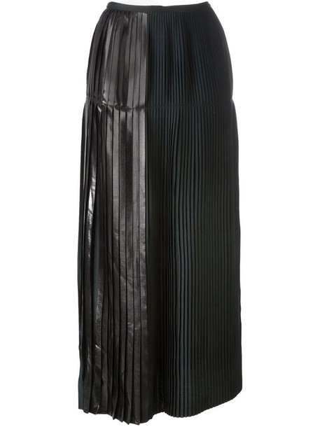 Stella McCartney skirt pleated skirt pleated women green