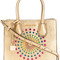 Michael michael kors - mercer star tote - women - leather - one size, grey, leather