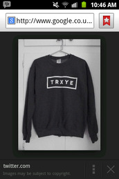 trxye,jumper,youtuber,sweater