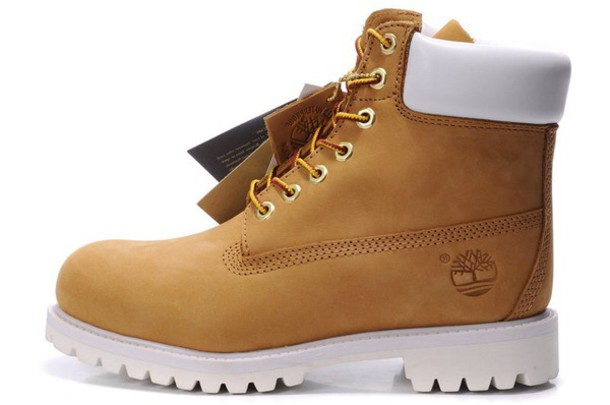 shoes timberlands boots 6 inch premiums brown shoes white warm boots