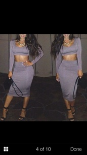skirt,jersey fabric,crop tops,cut out bodycon dress,shirt,jewels,any color
