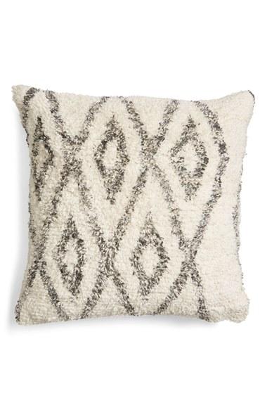 Levtex Diamond Pattern Chenille Pillow | Nordstrom