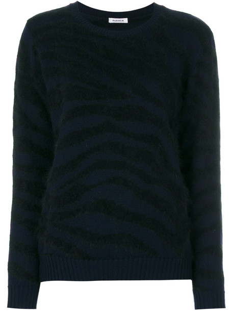 P.A.R.O.S.H. jumper women black wool sweater
