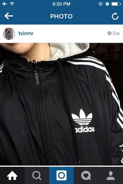 jacket adidas jacket tumblr
