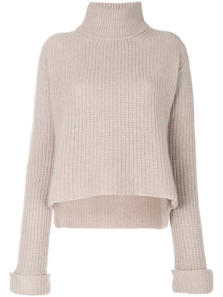 Forte Forte jumper women nude sweater