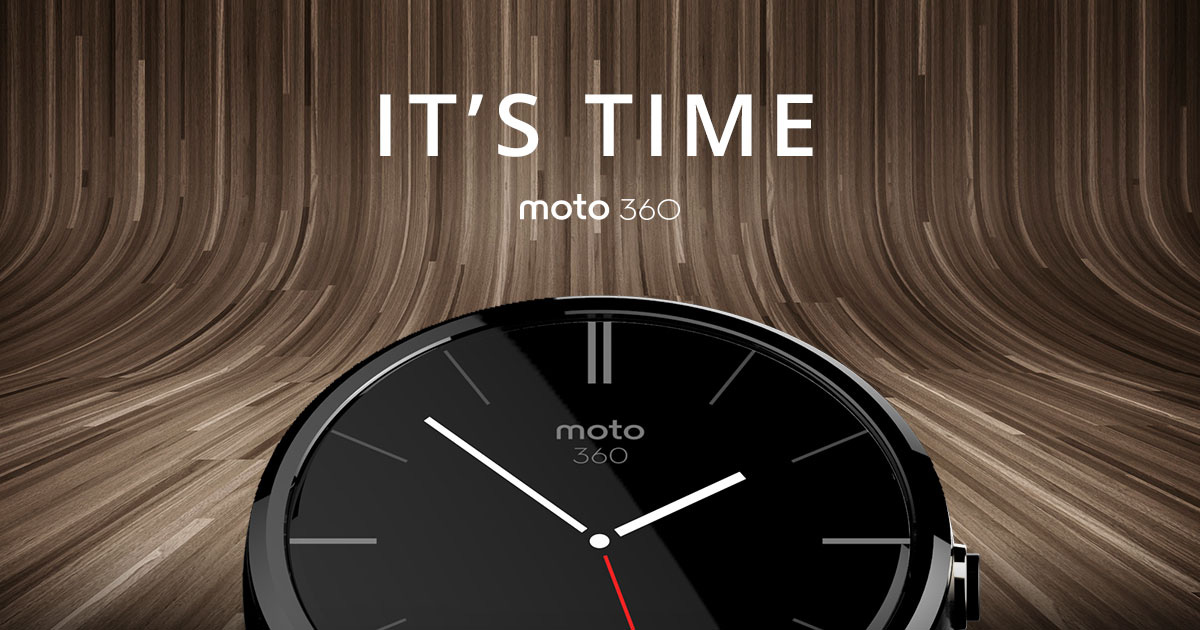 Moto 360 by motorola