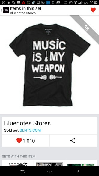 t-shirt music black t-shirt