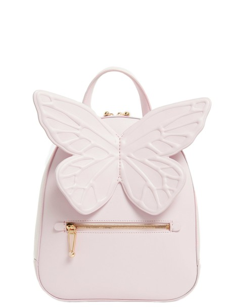 Sophia Webster backpack pink bag