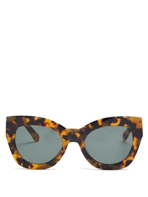 4838d83d527 Northern Lights cat-eye acetate sunglasses