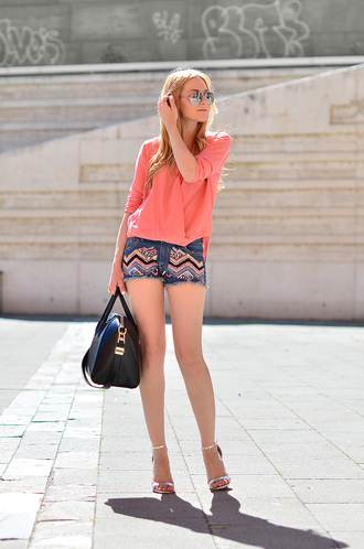 oh my vogue blouse shorts shoes bag jewels