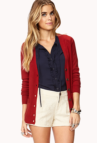 Essential Wool Cardigan | FOREVER21 - 2019572907