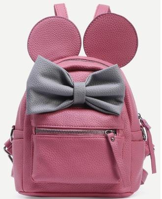 bag girl girly girly wishlist backpack pink bow cute back to school