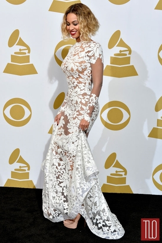 dress beyonce lace formal modern white nude see through beautiful