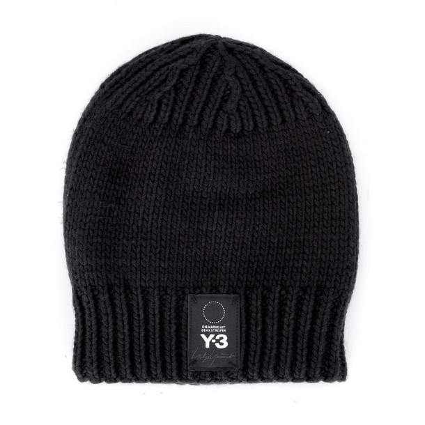 Y-3 Black And White Hat