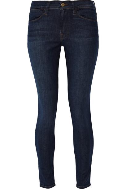 Frame Le High Skinny Jeans in denim
