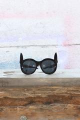 Cat Eared Sunglasses - Black | Obsezz