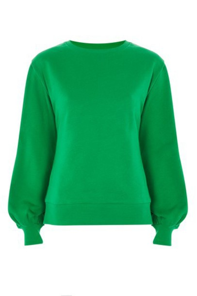 Topshop top green