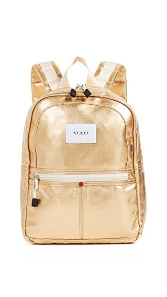 STATE mini backpack gold bag
