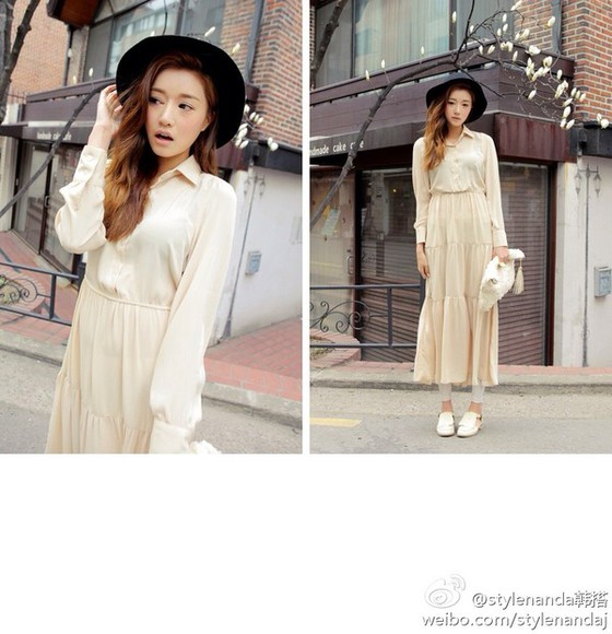 korea dress park sora model stylenanda