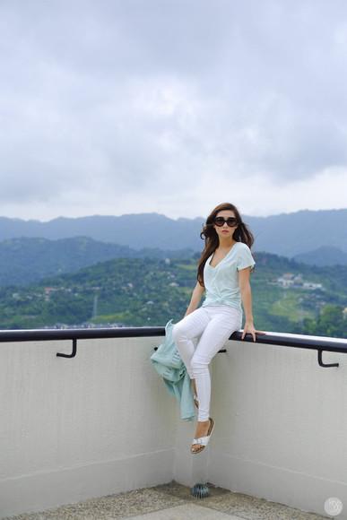 kryzuy shoes jewels sunglasses jacket blogger leggings