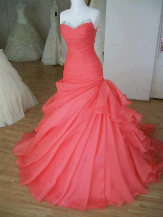 dress prom dress prom wedding dress melone mermaid bridesmaid ball gown bride mermaid prom dress strapless sweetheart neckline