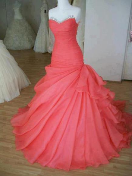 wedding dress sweetheart neckline strapless dress prom dress prom melone mermaid bridesmaid ball gown bride prom dress mermaid dress beautiful dress