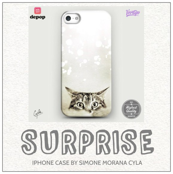 cat eye jewels iphone case fashion