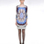 Geometry Printed Long Sleeve Loose Dress $129