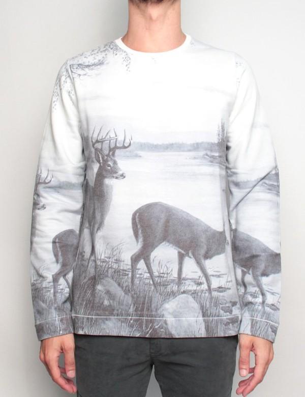 sweater swag nice white