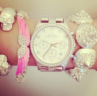 bangles jewels cute watch marc jacobs