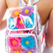 Floral holographic floral colorful backpack