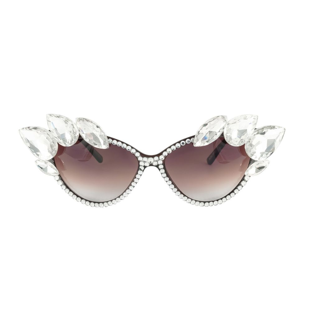 HANDCRAFTED Swarovski crystal bling luxury cat eye sunglasses by Holly Diamonds