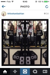shirt,celebrity,khloe kardashian,kardashians,jersey,yeezus,kanye west,west,number