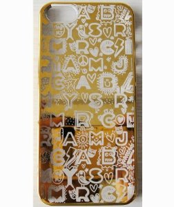 Amazon.com: marc graffiti hard case cover skins for protective apple iphone 5 5g 5s (graffiti gold): cell phones & accessories