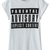 ROMWE | ROMWE Graffiti Letters Print Rolled-cuffs White T-shirt, The Latest Street Fashion