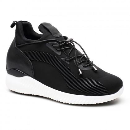 935a53e045 Casuale scarpe con rialzo interno donna scarpe da ginnastica rialzate  Scarpe alte 7CM