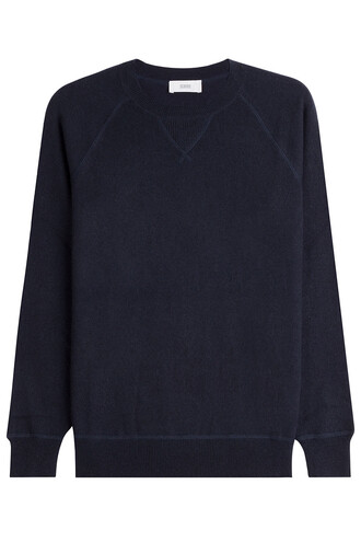 pullover blue sweater