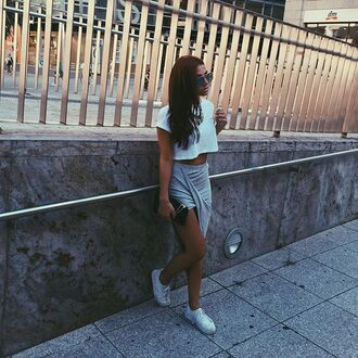 top instagram fashion white classy cool casual style comfy shoes