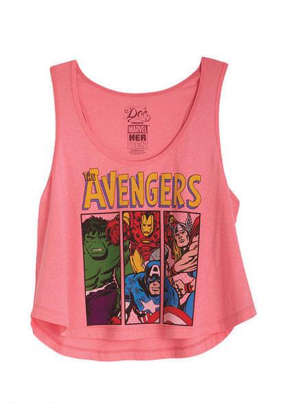 Avengers Tank on Wanelo