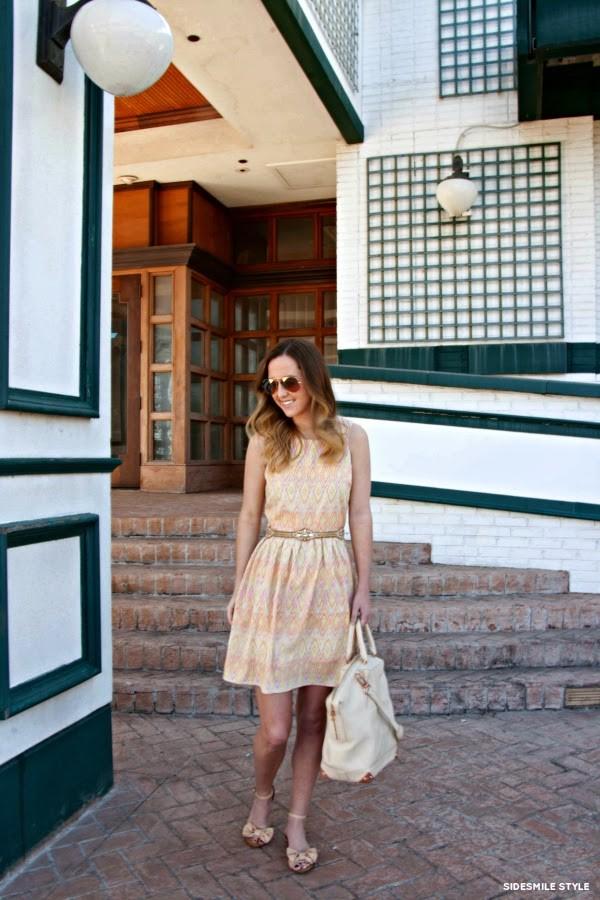 side smile style dress shoes bag belt