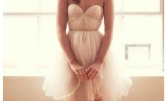 dress sweetheart neckline prom dress beige dress flowy dress pastel strapless dress