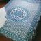 By the moon - aquarius mandala duvet cover - queen