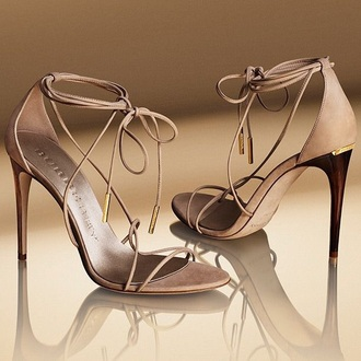 shoes burberry sandals beig nude heel