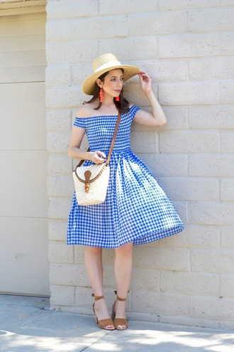 cost with me blogger hat dress jewels bag shoes