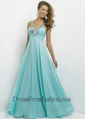 Gorgeous Auqa long Sequin Pleated Prom Dress [Sequin Pleated Prom Dress] - $165.00 : Fashion Cheap Prom Dresses, Formal, Homecoming Dresses - DressPromFashion