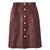 Carven Leather Skirt - ShopBAZAAR