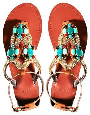 Sosha baby sandals