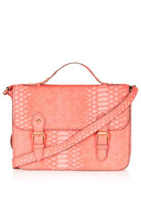 Snake Satchel - Bags & Accessories -   - Bags & Accessories - Topshop