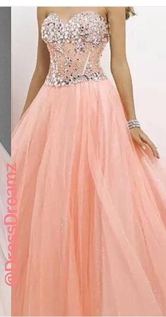 dress prom dress peach dress peach fashion prom beauty fashion shopping