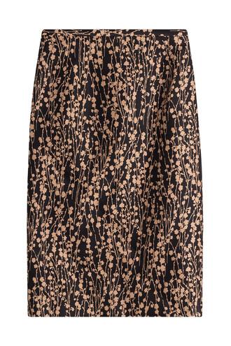 skirt cotton silk multicolor